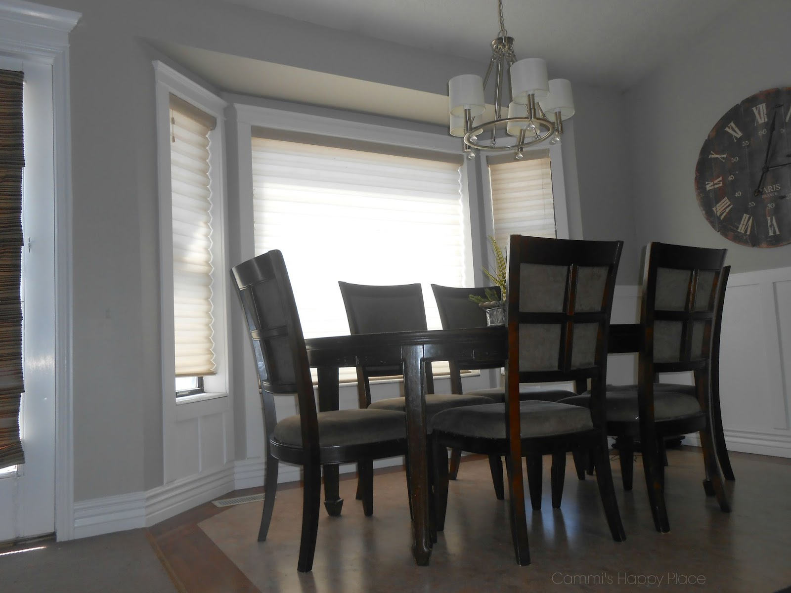 Dining Room Trim And Bay Window